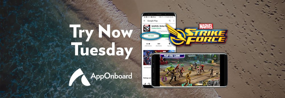 Try Now Tuesday: FoxNext Delivers the 3D, Cinematic Graphics of MARVEL Strike Force on the Google Play Store via App Store Demos